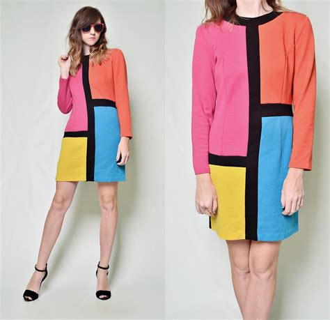 color block dresses what shoes to wear with color blocked dresses