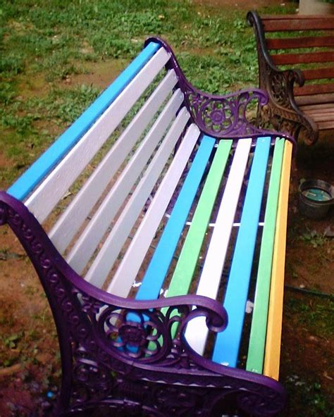25 best ideas about painted outdoor furniture on painted patio furniture painted