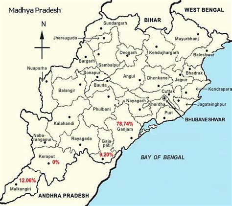 Odisha Map Outline by Journal Of Family Medicine And Primary Care Table Of Contents