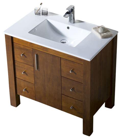 Parsons Vanity by Parsons 37 Porcelain Top Vanity Bathroom Vanities And