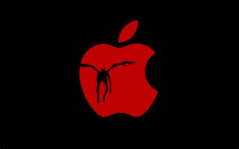 ryuk apple wallpaper by denise destiny on deviantart