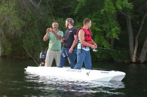 aluminum boat vs kayak jon boat stability vs wavewalk 174 s4 wavewalk 174 stable