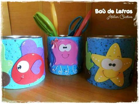 latas decoradas en foami m 225 s y m 225 s manualidades latas decoradas con foamy