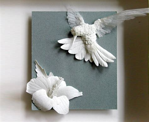 Craft In Paper - papercraft wall paper decoration http lomets
