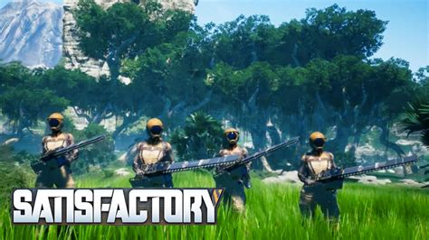 satisfactory reveal trailer pc gaming show