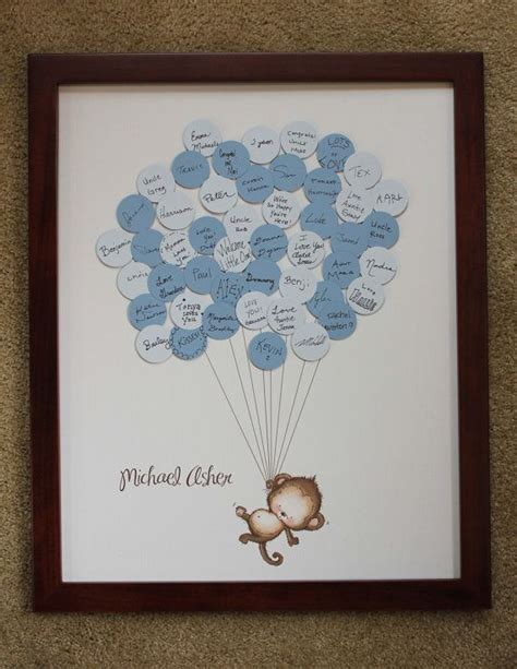 Baby Shower Guest Book Ideas by 25 Best Ideas About Baby Shower Guestbook On