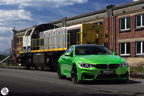 green bmw m4 bmw m4 coupe in java green