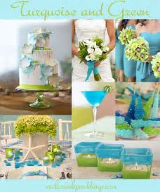 Turquoise Wedding Color ? Seven Perfect Combinations   Exclusively Weddings Blog   Wedding Ideas