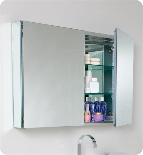 Fresca Mezzo Gray Oak Modern Bathroom Vanity W Medicine Modern Bathroom Medicine Cabinets