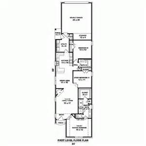 Narrow Lot House Plans With Rear Garage by Gallery For Gt Narrow Lot House Plans With Rear Garage