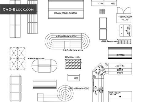 display printable area autocad cad blocks free download