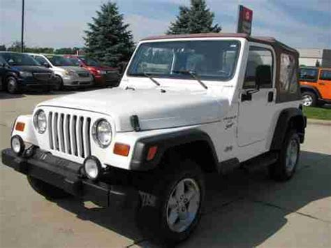1999 Jeep Wrangler Soft Top Sell Used 1999 Jeep Wrangler Sport 4 Cylinder Automatic