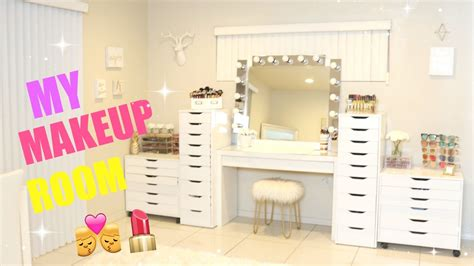 room it up my new makeup room