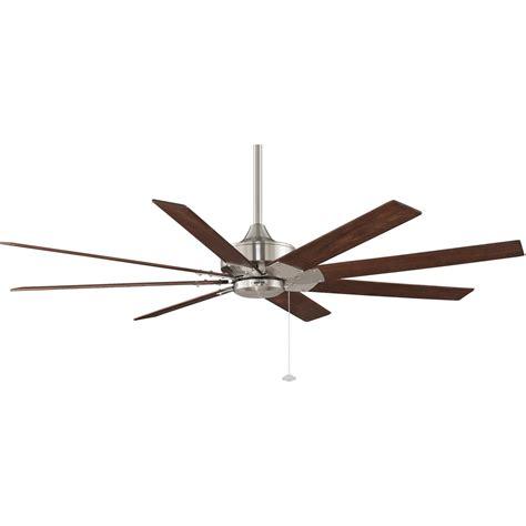 fanimation levon 63 inch brushed nickel ceiling fan fanimation levon 63 inch indoor ceiling fan brushed