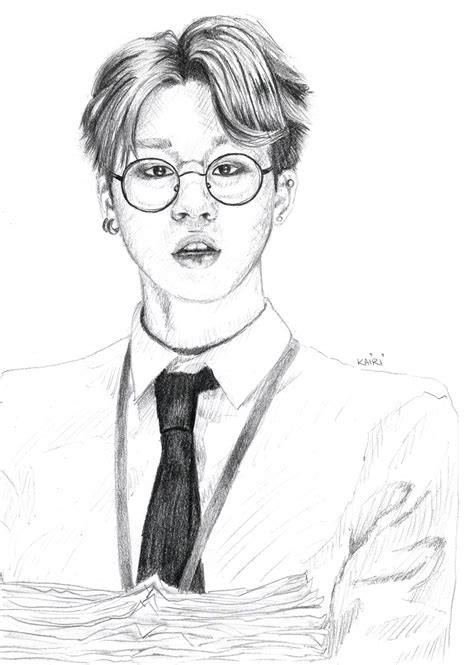 Kpop Sketches by Park Jimin By Smolkairi On Deviantart