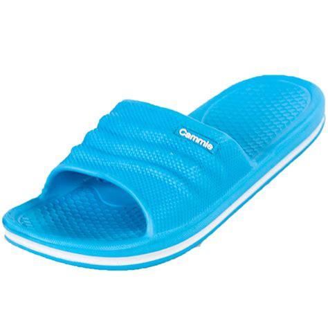 Flip Flop House Shoes by Womens Slip On Sport Sandals Slides Comfort House Shoes Flip Flop Shower Slipper