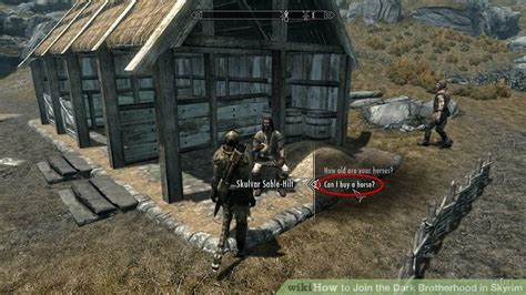 how do you buy a house in windhelm how to join the dark brotherhood in skyrim 11 steps