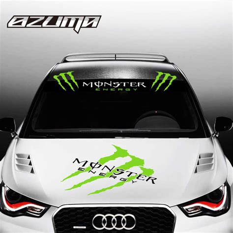 Sticker Frontglass Invisible energy stickers for car windows custom sticker