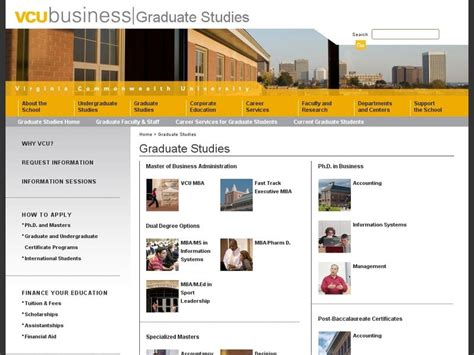 Vcu Mba by Virginia Commonwealth School Of Business