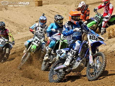 motocross races in motocross bikes racing