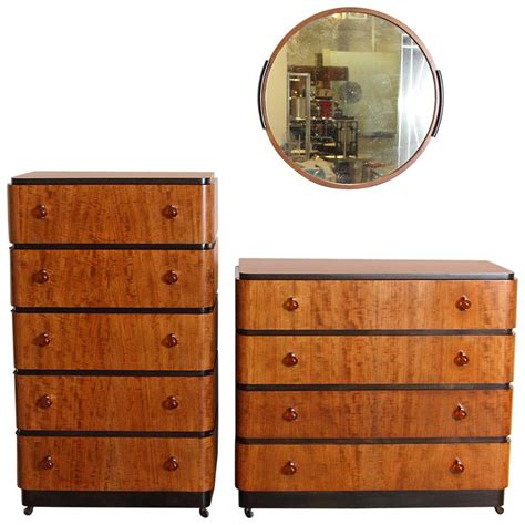 art deco bedroom suite at 1stdibs signed original valentine seaver art deco bedroom suite by