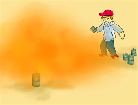 How To Make A Paper Smoke Bomb - how to make a colored smoke bomb 13 steps with pictures