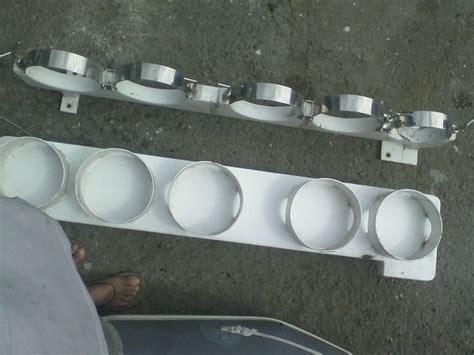 ss rod rack scuba tank holder the hull truth boating - Scuba Tank Holders For Boat
