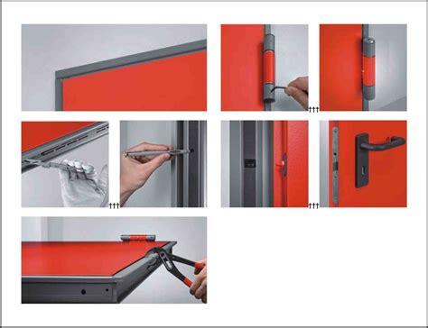 montaggio porta tagliafuoco porte tagliafuoco rei 120 2 ante mod univer con obl 242 in