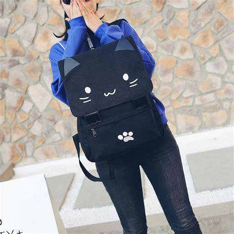 Ransel White tas ransel wanita model cat black white jakartanotebook