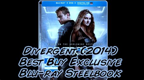 Steelbook Divergent Best Buy divergent 2014 best buy exclusive steelbook