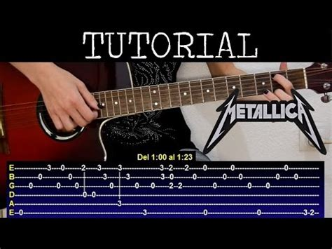 youtube tutorial nothing else matters c 243 mo tocar nothing else matters de metallica parte 2