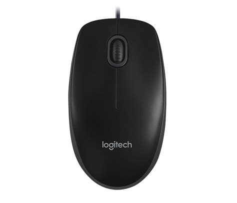 Mouse Logiteck B100 logitech for business b100 optical usb mouse for business en in