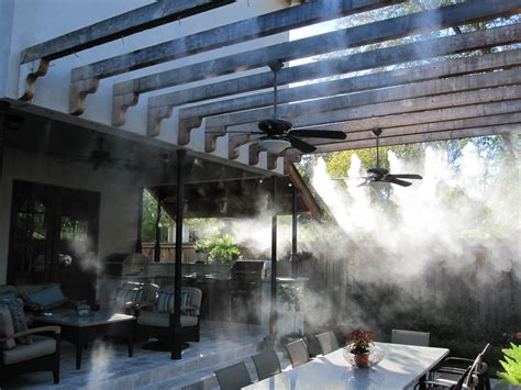 misting system for patio 7 essentials to make your patio more comfortable the soothing