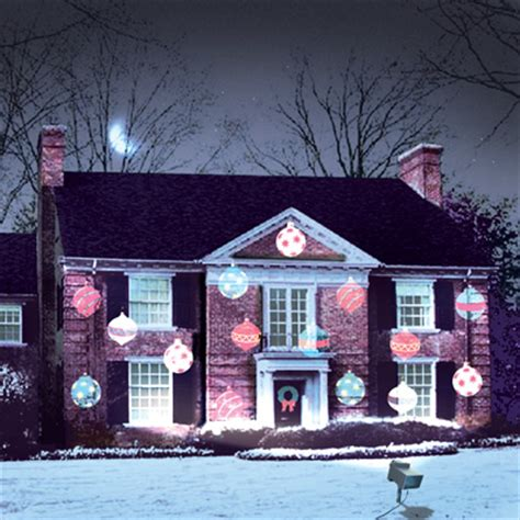 awesome light projectors and houses lit up time for the holidays