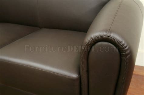 sally sofa sally sofa in brown bycast leather by wholesale interiors