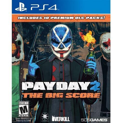 Best Seller Kaset Original Ps4 Payday 2 The Big Score Reg 1 payday 2 the big score