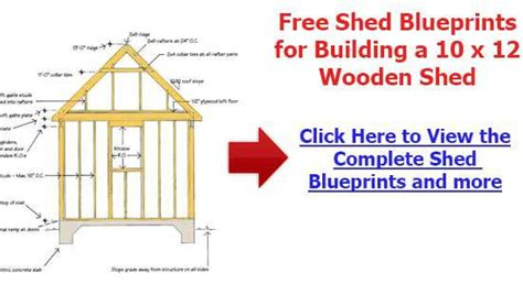 Free Shed Plans 10 X 12 by Free 10 215 12 Gambrel Shed Plans X16 Storage Shed Plans