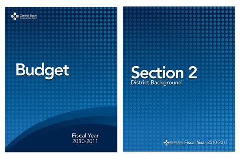budget cover page template graphic design digital synergy