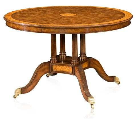 Yew Dining Table Extending Walnut Veneered And Yew Burl Banded Dining Table Dining Tables From Brights Of Nettlebed