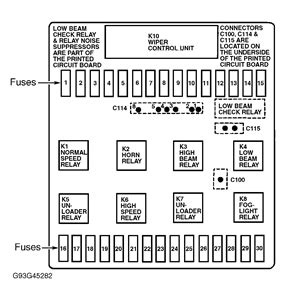 solved fuse panel diagram 1987 bmw 325 fixya