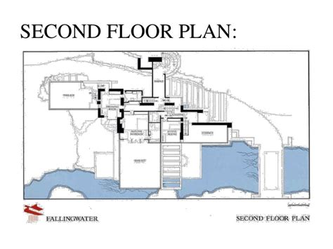 fallingwater floor plan casestudy of falling water
