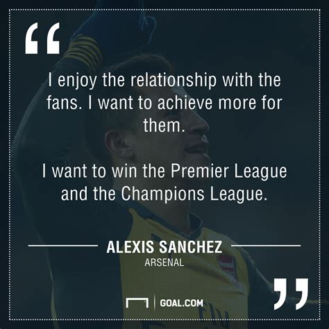 alexis sanchez quotes manchester city transfers pep guardiola should go all out