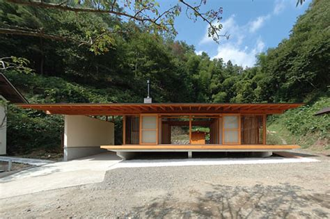 small weekend house plans japanese wooden weekend house by k2 design digsdigs