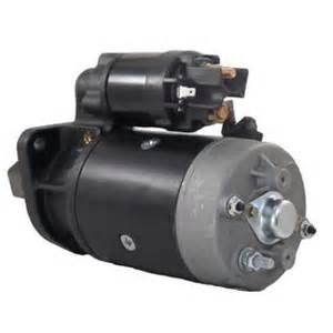 rareelectrical new starter motor fermec backhoe 640b 650b