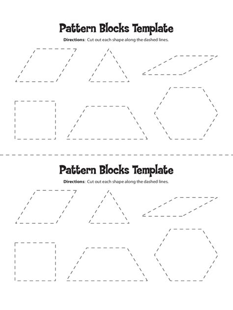pattern block shape templates pattern block templates 5 free templates in pdf word