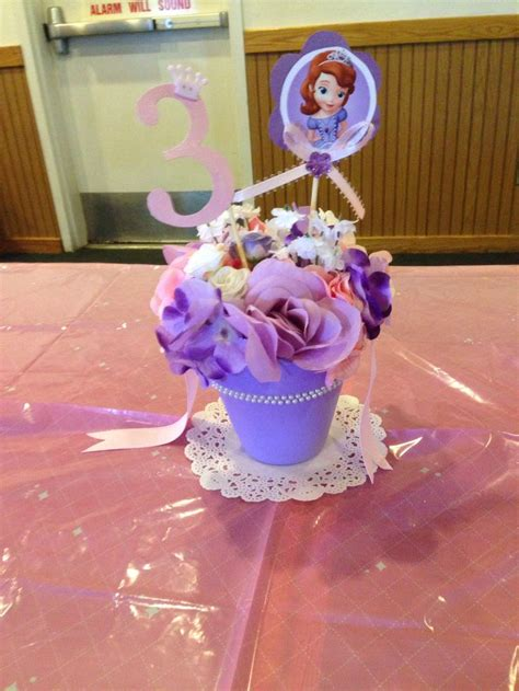 1000 images about sofia the first centerpiece ideas on