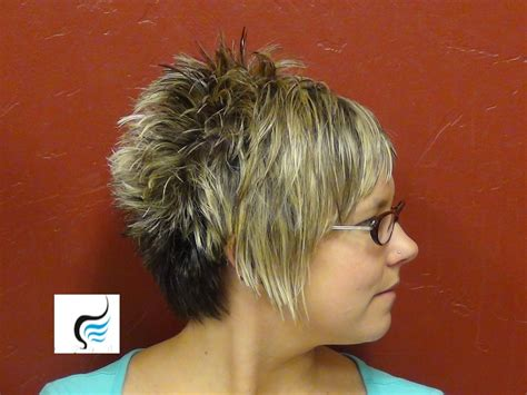spiked wedge bob how to cut an asymmetrical hairstyle girls hairstyles