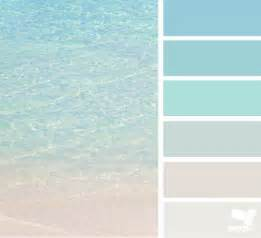coastal paint colors clear beaches colour swatches and design seeds