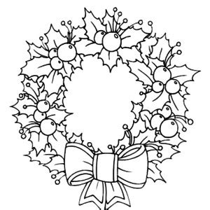 coloring pages of christmas reefs christmas wreath coloring page shared by tressa 24862