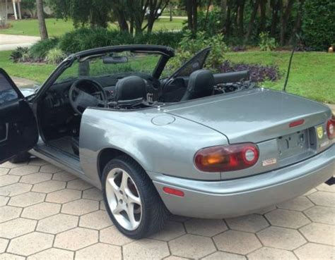 how to fix cars 1996 mazda mx 5 instrument cluster buy used 1996 mazda miata convertible in port saint lucie florida united states for us 3 800 00